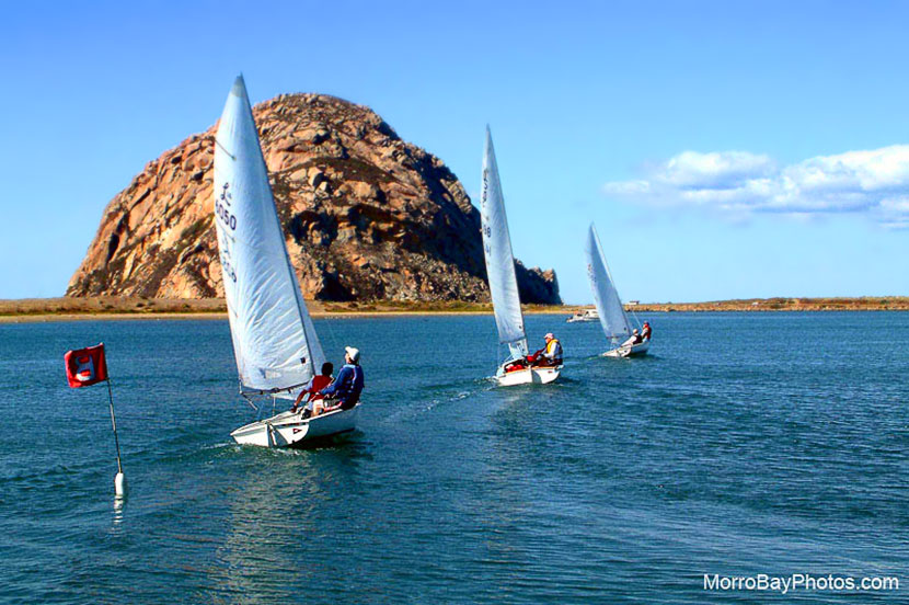 Under Sail to Morro Rock